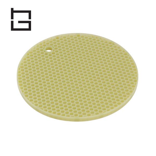 【HG】圓形矽膠隔熱墊 (綠) (現貨+預購)