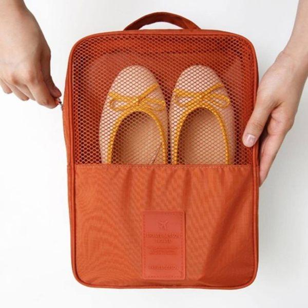 《Y.C旗艦店-24H出貨》3層旅行鞋袋 新款鞋袋 三層鞋袋 旅行專用鞋袋
