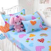床包組-單人 [心語心愿]含一件枕套, 纖維,Artis台灣製
