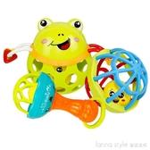 嬰兒玩具3--12月益智小孩手搖鈴新生兒寶寶玩具手抓球  LannaS