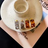 耳環 復古 半圓 弧形 金屬 珠珠 拼接 耳圈 簡約 氣質 耳環【DD1909110】 ENTER  12/19