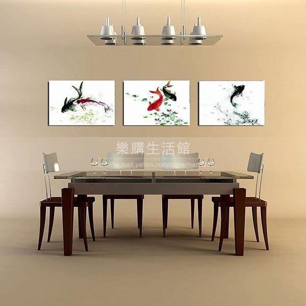 客廳裝飾壁畫/無框畫-中國風【30*40*0.9三幅】LG-00051073
