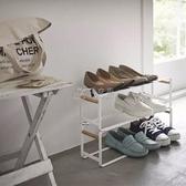 鞋架出口原訂單日式多層鞋架簡約鐵藝可移動客廳臥室居家擺放收納鞋架 俏女孩