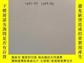 二手書博民逛書店東方陶瓷學會會刊1967-1969罕見第37卷(Transactions of Oriental Ceramic