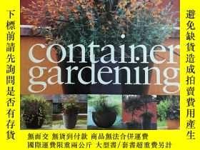 二手書博民逛書店Container罕見gardeningY239544 英文 英