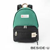【BESIDE-U】 HALCYON系列寬闊休閒後背包 - 雲衫綠