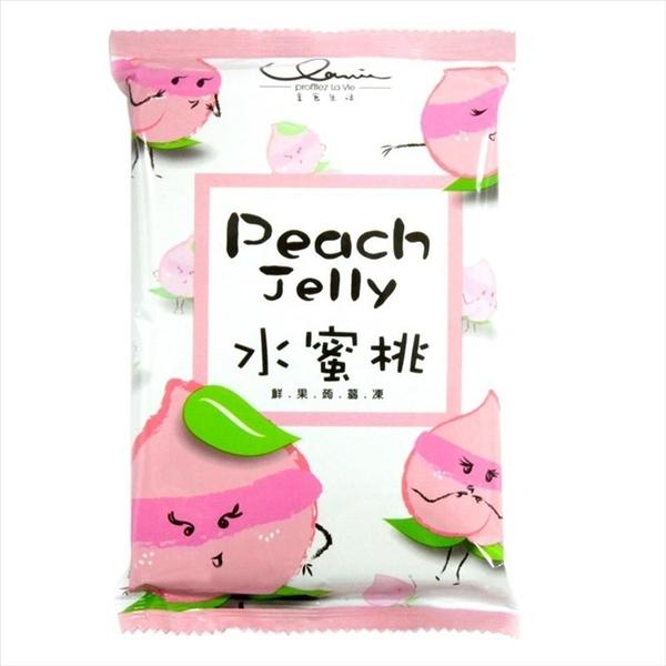 享食生活鮮果蒟蒻凍-水蜜桃 170gx3包 【2019070800020】(台灣果凍)