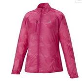 [陽光樂活=] ASICS 日本亞瑟士 女 慢跑輕薄外套 127855-2041 桃紅