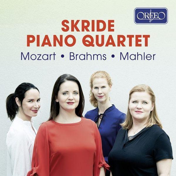 【停看聽音響唱片】【CD】布拉姆斯 / 莫札特 / 馬勒:鋼琴四重奏 絲凱德鋼琴四重奏
