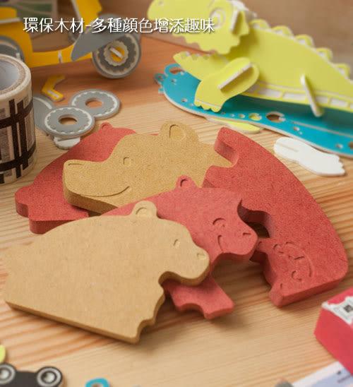 幸福森林【熊嘛吉】幼兒益智玩具-幼兒拼圖