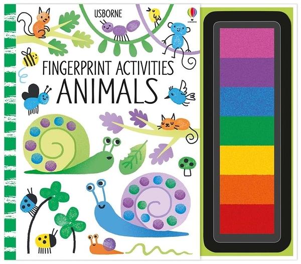 Fingerprint Activities:Animals 指印玩樂遊戲書:動物篇