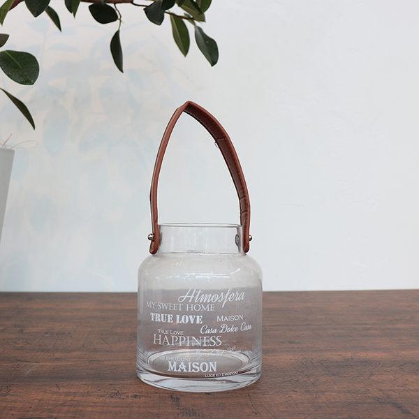【義大利Tognana】K&H 水晶透明燭台(手提燭台/ 蠟燭台/ 13x15cm)