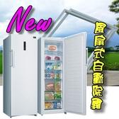 不佔空間★NEW 自動除霜台灣三洋 250公升直立式冷凍櫃 SCR-250F