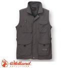 【Wildland 荒野 中性透氣抗UV多口袋背心《深霧灰》】W1705/吸濕快乾/輕薄耐磨/UV30+