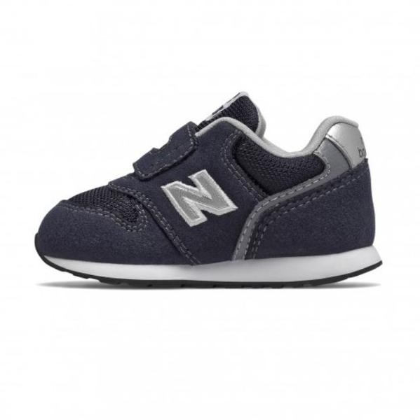 New Balance 嬰幼童 魔鬼氈復古運動鞋 深藍-NO.IZ996CNV