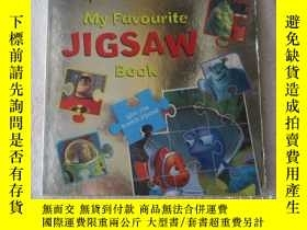 二手書博民逛書店Disney罕見Pixar My Favourite Jigsa