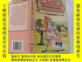 二手書博民逛書店alice罕見in wonderland lewis carroll 愛麗絲夢遊仙境劉易斯卡羅爾Y200392