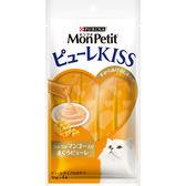 【寵物王國】MonPetit貓倍麗-Puree Kiss小鮮肉泥(鮮鮪香芒口味)(10gx4包)
