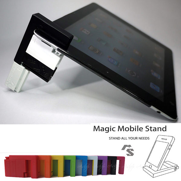 【A Shop】MMS Magic Mobile Stand 創意隨行座支架 for iPad Mini4/ iPad Air2/iPad Pro/iPad4/ iPhone 6S/6SPlus