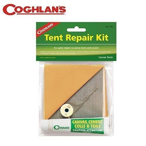 丹大戶外【Coghlans】加拿大 TENT REPAIR KIT 帳棚修補包 703
