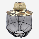 防蚊帽 防曬釣魚帽子夜釣帽防蟲帽養蜂帽男女夏季透氣遮陽帽  新年禮物