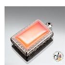 長方型嘎嗚舍利盒3.8*2.6*1.3公分【十方佛教文物】