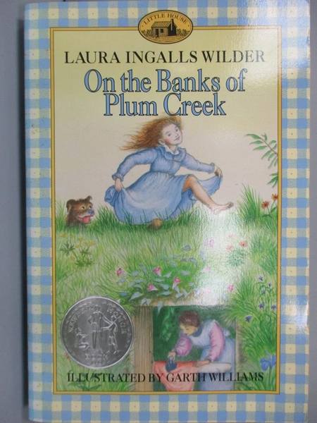 【書寶二手書T1/原文小說_MLC】On the Banks of Plum Creek