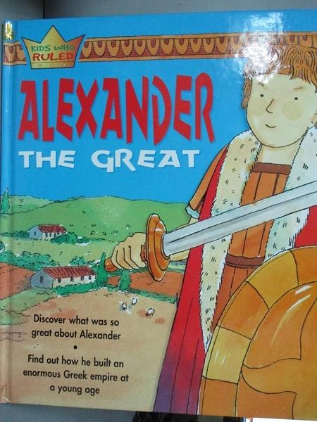 【書寶二手書T3/原文書_ZDJ】Alexander the Great_Worms, Penny/ Lewis, An