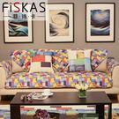 沙發墊簡約現代客廳組合沙四季通用棉布藝免...