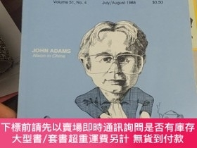 二手書博民逛書店American罕見Record Guide Vol. 51, No.4, June August 1988. E