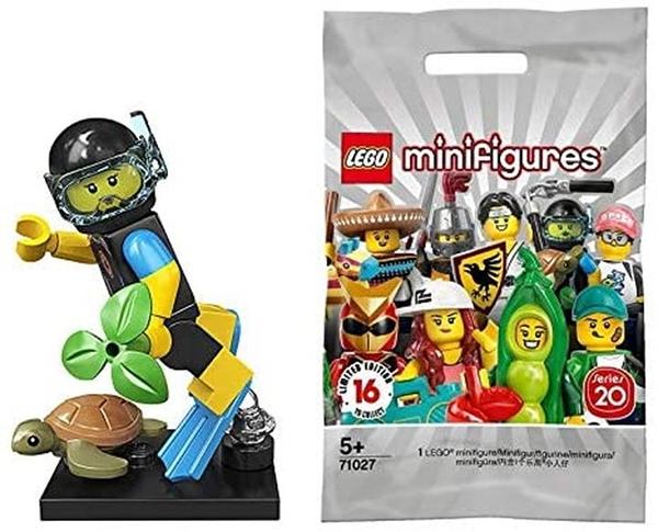 LEGO 樂高 迷你手辦 系列20 海洋救援隊 Sea Rescuer 【71027-12】