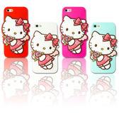 APPLE iphone5 ise i5s Hello Kitty 凱蒂貓 三麗鷗 薔薇 矽膠 手機殼 韓國 背蓋 防撞 MQueen膜法女王