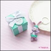 Tiffany盒裝 達菲 雪莉玫 史黛拉兔 鑰匙圈(款式隨機出貨) 婚禮小物 生日分享 探房禮 送花童