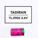 全館免運費【電池天地】TADIRAN 一次性鋰電池 TL-5902 3.6V 1/2AA