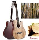 吉他 民謠木吉他初學者38寸41吉他學生新手練習青少年入門男女樂器T 5色