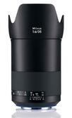 6期零利率 Zeiss 蔡司 Milvus 1.4/35 ZE 35mm F1.4 ZE 鏡頭 For Canon 石利洛公司貨