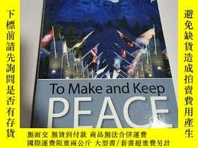 二手書博民逛書店TO罕見Make and Keep PEACE(英文)Y2128