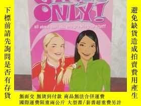 二手書博民逛書店Girls罕見Only! All About Periods and Growing-Up StuffY269