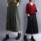 顯瘦雙口袋釦子裝飾裙子 獨具衣格 J32...