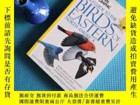 二手書博民逛書店FIELD罕見GUIDE TO THE BIRDS OF EASTERN NORTH AMERICA 北美東部鳥類