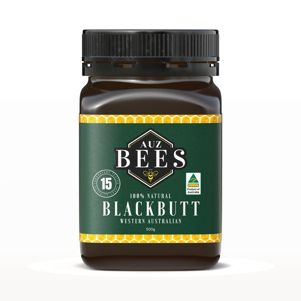 【Auz bees 澳蜜工坊】 黑基木蜂蜜TA15 500克 (100%澳洲天然活性蜂蜜)