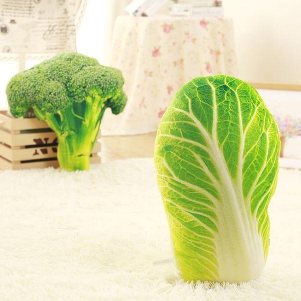 玩具蔬菜豬蹄生姜抱枕公仔創意零食韓國搞怪毛絨【極簡生活館】