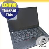 【Ezstick】Lenovo ThinkPad T14S 靜電式筆電LCD液晶螢幕貼 (可選鏡面或霧面)