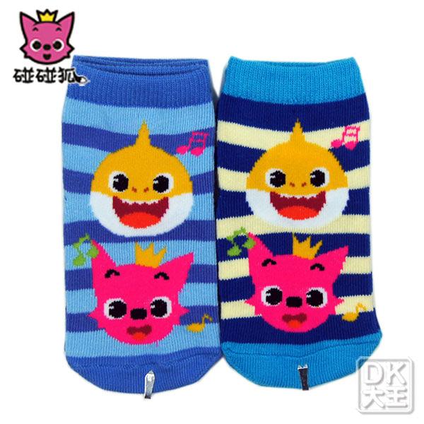 碰碰狐BABY SHARK止滑直板襪 PF-S105B 五線音符款 嬰兒襪 【DK大王】