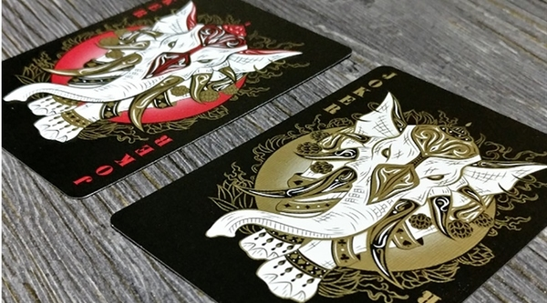 【USPCC撲克】BICYCLE REALM BLACK Playing Cards