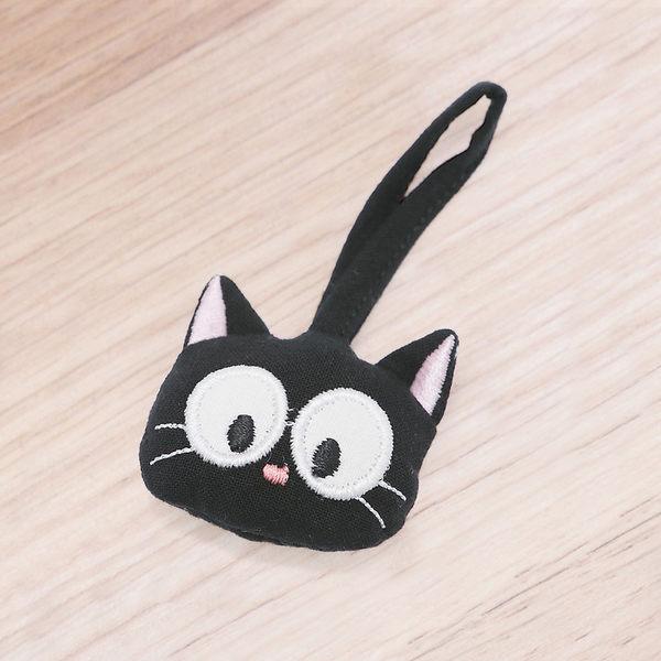 吊飾/Kiro貓‧日系貓咪拼布包 拉鍊吊飾 黑貓 【221863】