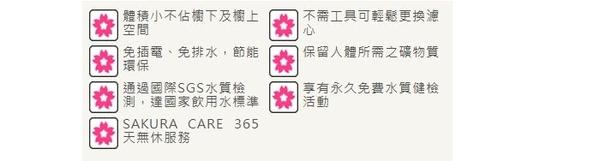 櫻花 SAKURA 複合型活化淨水器 P0622 ~ 含標準安裝