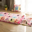 兒童睡袋 [怪獸寶貝 / 粉]  ; 多用途舖棉兩用 ; 翔仔居家獨家人氣首發