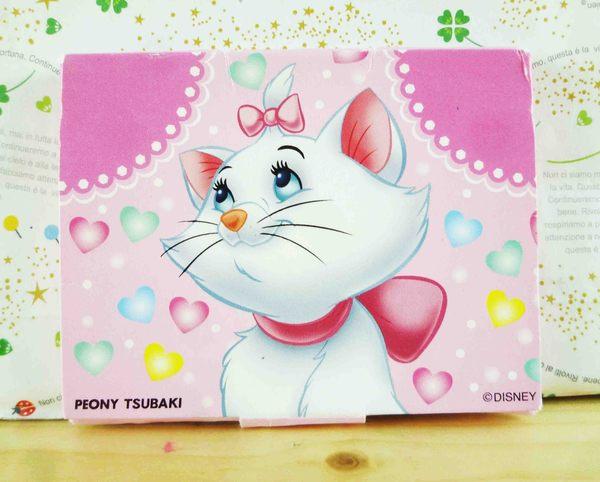 【震撼精品百貨】The Aristocats Marie 迪士尼瑪莉貓~吸油面紙-粉愛心