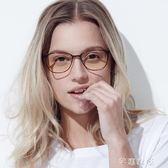 防藍光眼鏡男女手機護目鏡電腦防藍光圓框眼鏡      芊惠衣屋